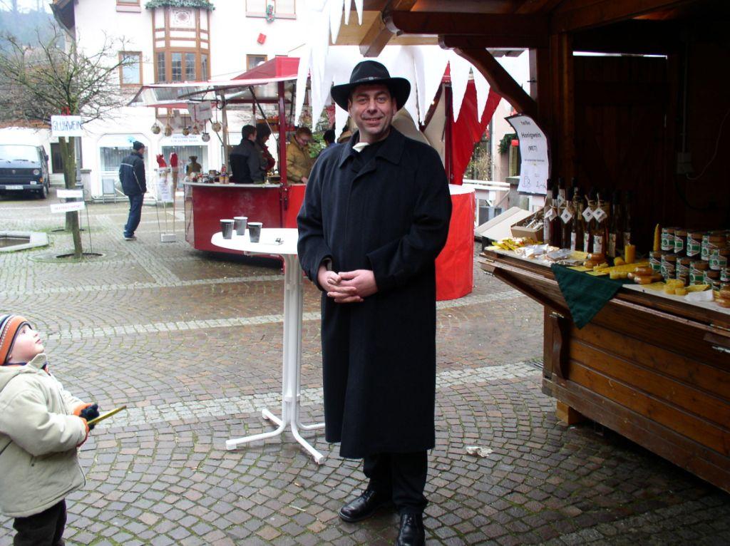 Besuch auf dem Weihnachtsmarkt in Kappelrodeck