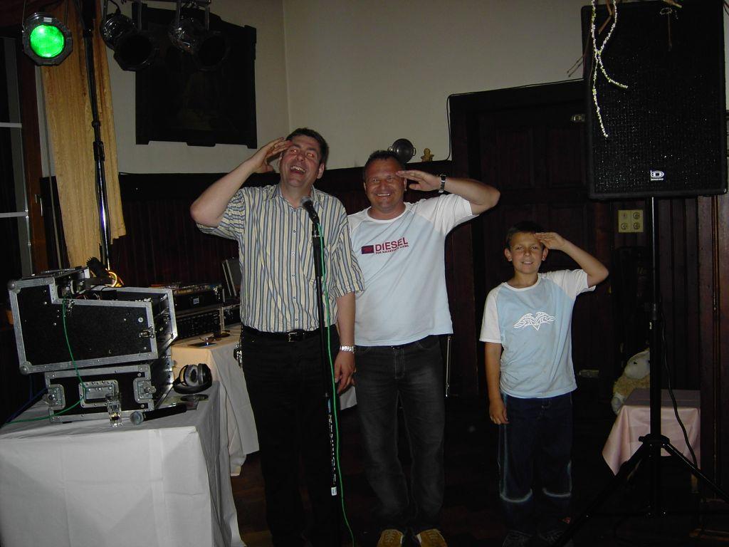 Discjockey Claudio, DJ Fips, Nachwuchs-DJ Mario