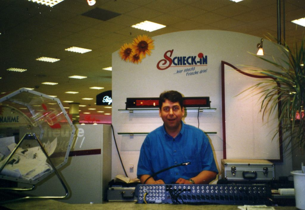 Eröffnung des %22Scheck-In Center%22 in Achern, 1998