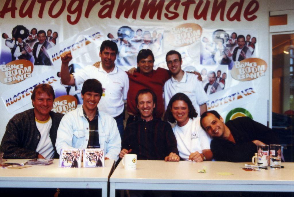 Klostertaler Autogrammstunde in Balingen