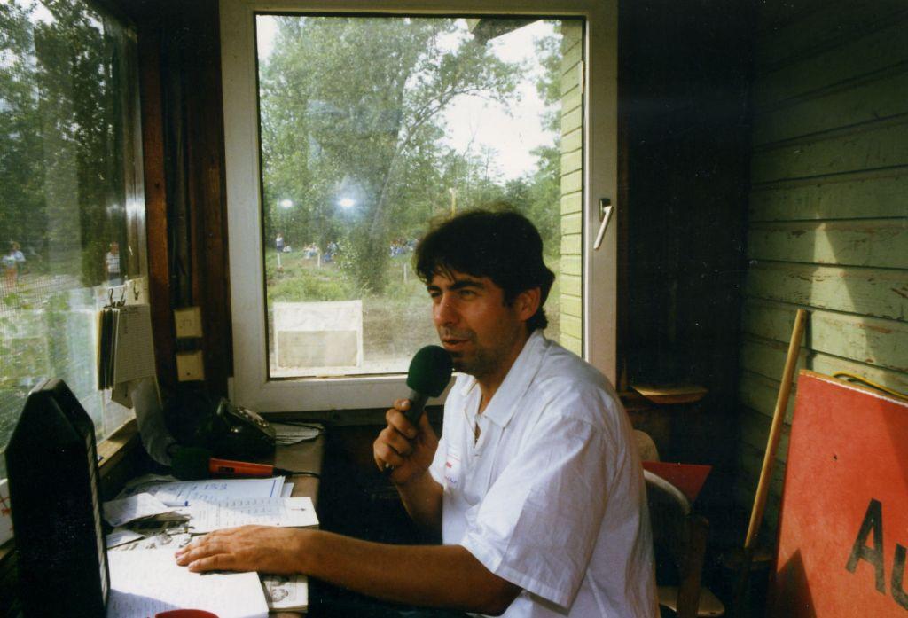 Streckensprecher beim StockCarClub Neuenburg a. Rhein, 1987 2